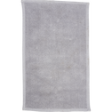 Tapis de bain en coton texturé gris borie-CALADE