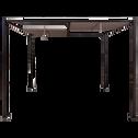 Pergola en fer avec 4 panneaux pivotants et détachables-MEOUNES