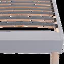 Sommier tapissier Dunlopillo 15 cm - 90x190 cm-DUNLOLATT