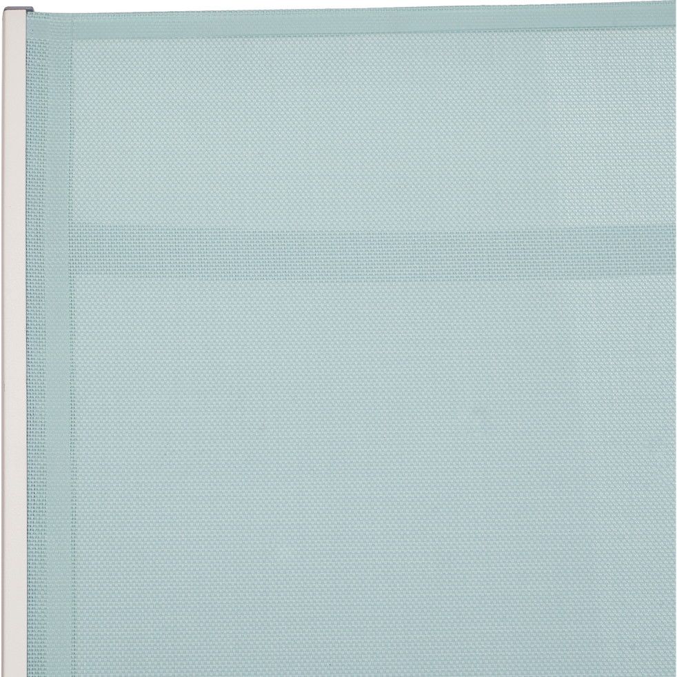 Bain de soleil bleu clair en textilène-CAMILA