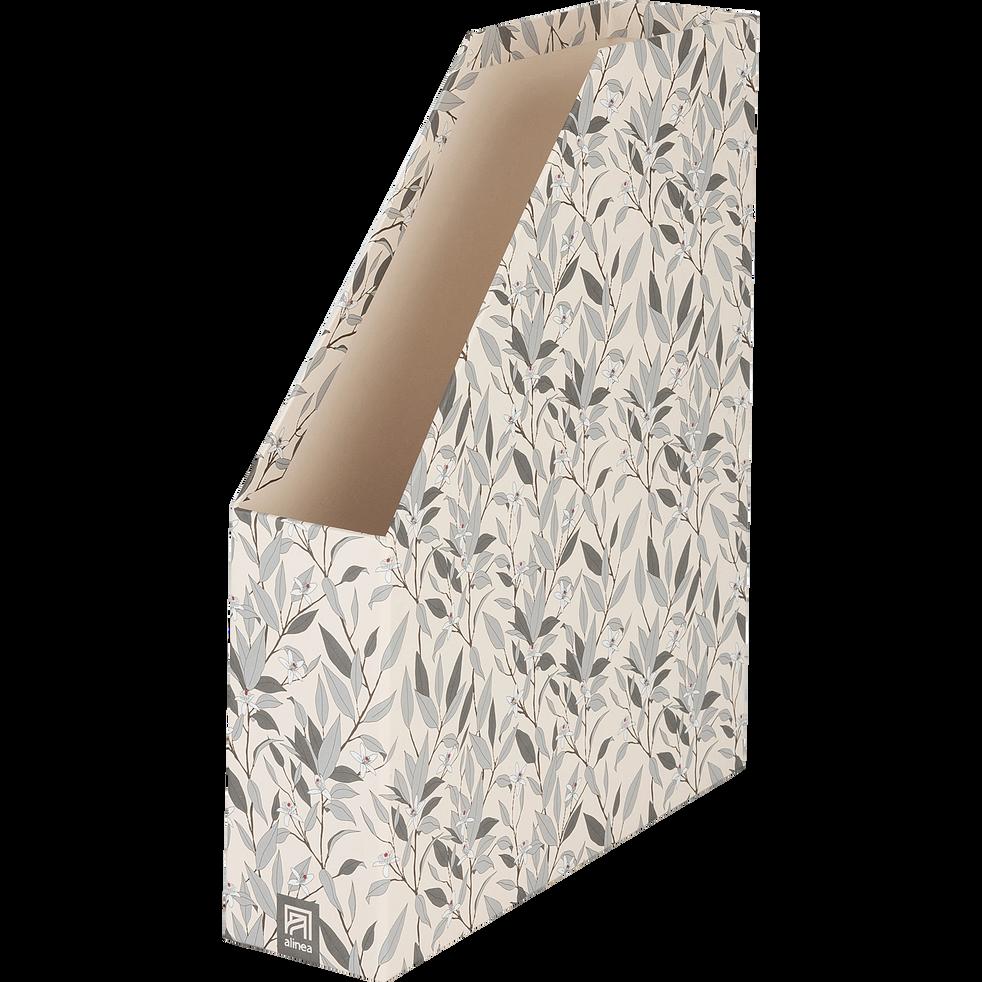 Range-revue en carton motif fleur d'oranger-ORANGER