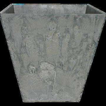 Pot à réserve d'eau gris (plusieurs tailles)-Ella