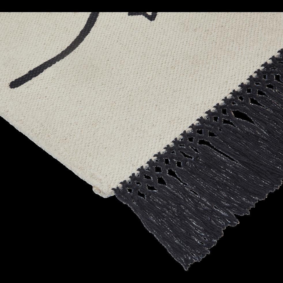 Tapis imprimé marelle 100x160 cm-SALEON