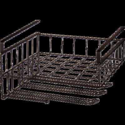 Rangement de cuisine casier avec rack à verres-Blake