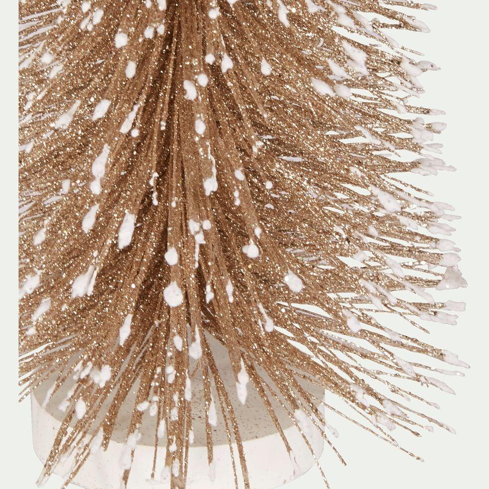 Sapin de table doré H40cm-ADRIEL