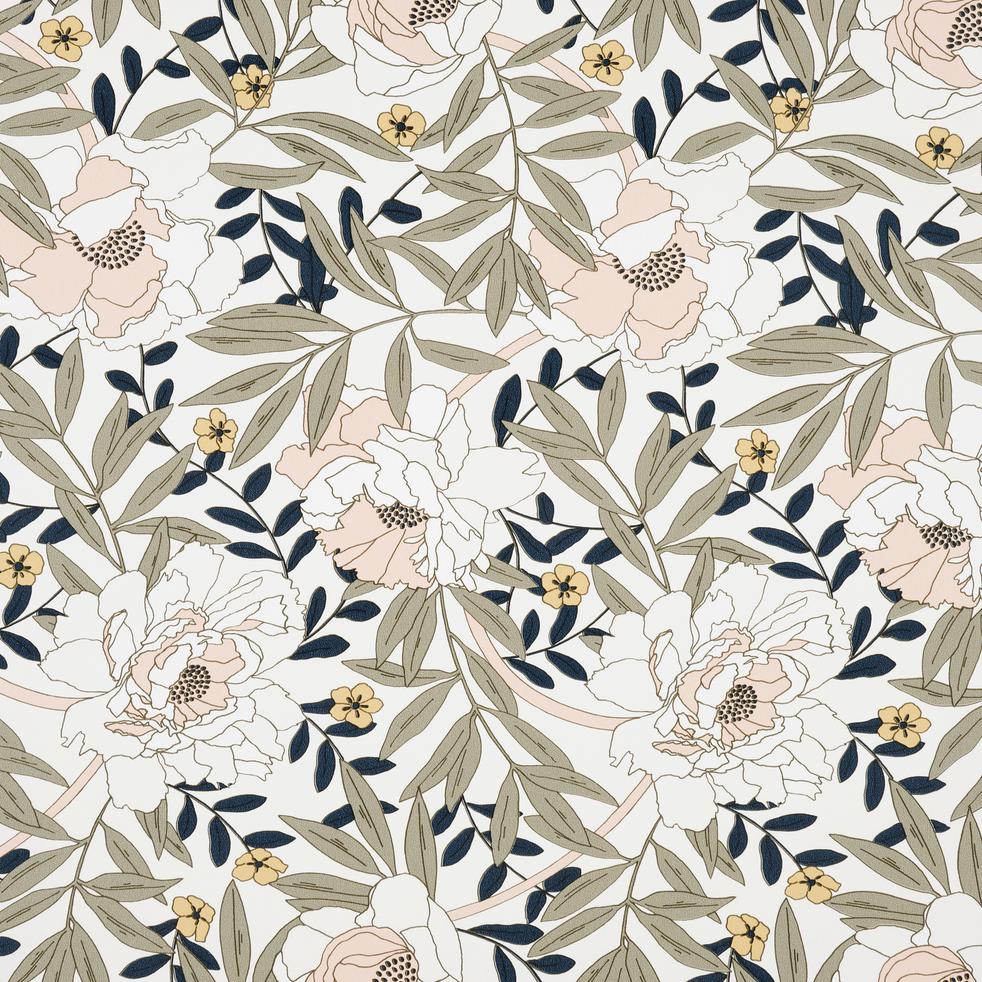 Papier peint floral art nouveau 10m-ARBOUSIER