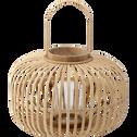 Lanterne en bambou H25cm-KIJANI