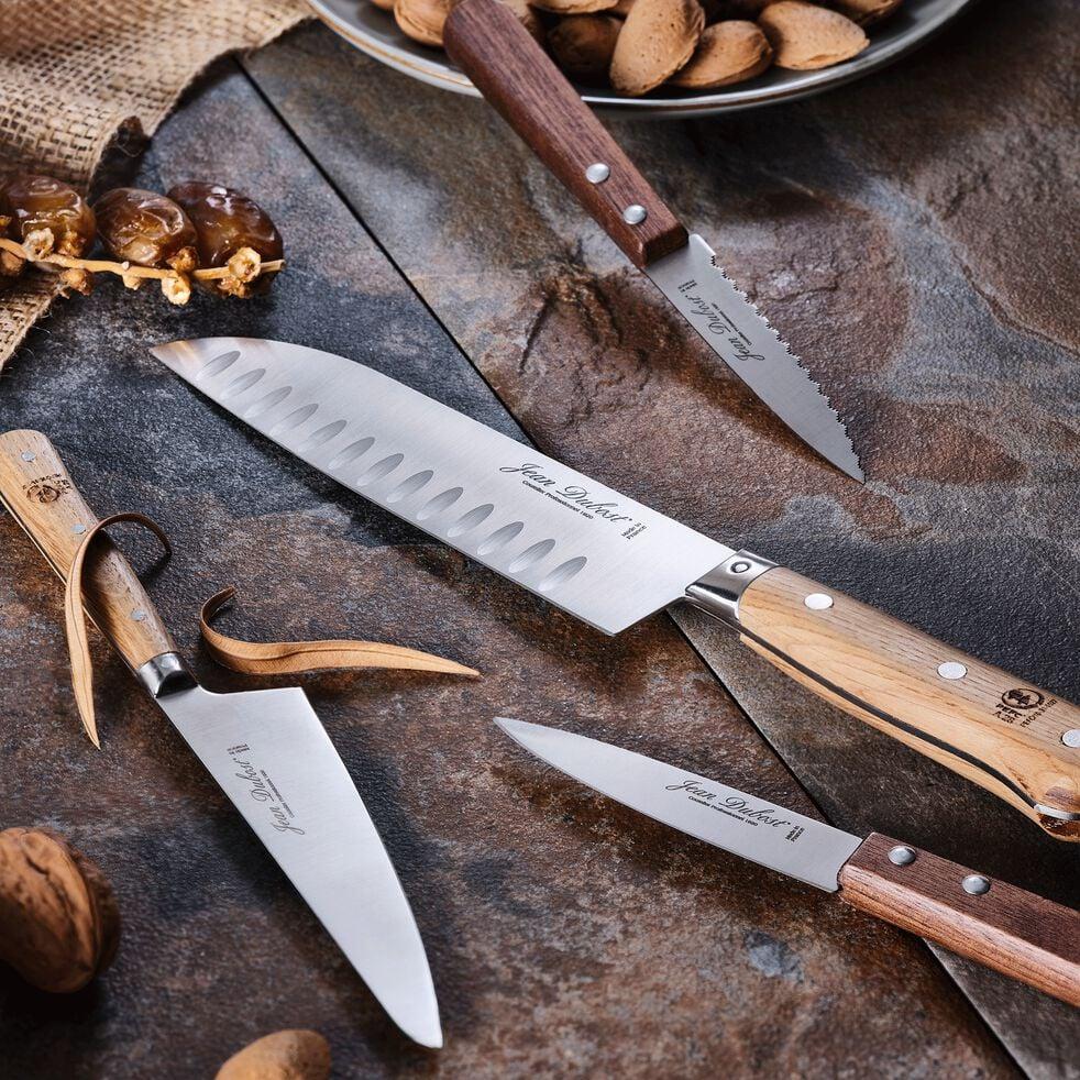 Couteau office en bois de noyer-TRADITION