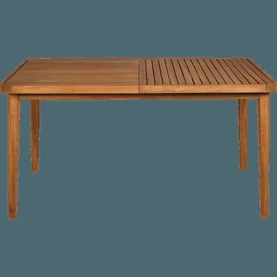 Table de jardin extensible en acacia (6 à 10 places)-YOUK