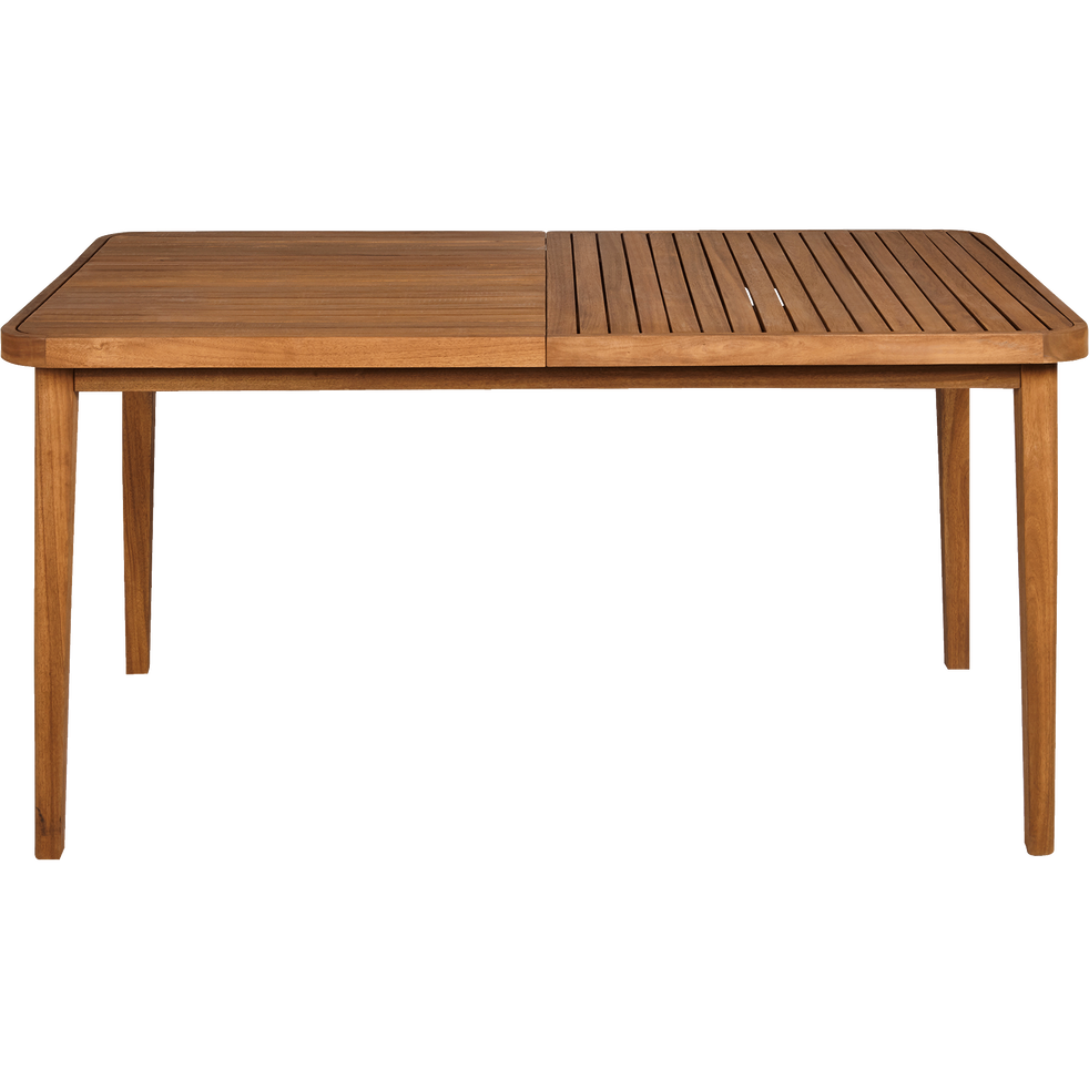Table de jardin extensible en eucalyptus (6 à 10 places) - YOUK ...