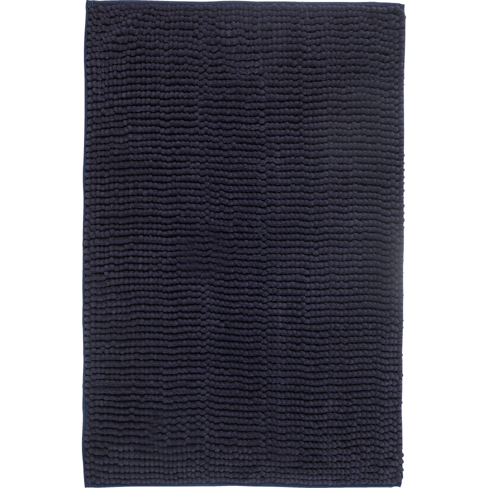 Tapis de bain polyester 50x80cm gris calabrun-PICUS