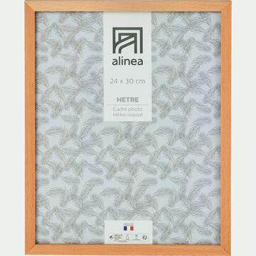 Cadre photo en bois L24xH30cm-HETRE