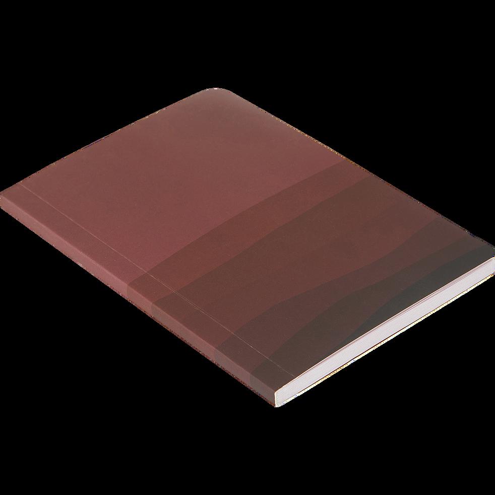 Carnet motif 14,8x10,5cm-Rustrel