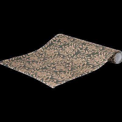 Papier peint intissé motif jasmin 53cm x 10m-JASMIN