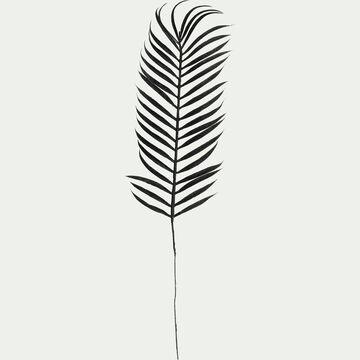 Feuille de palmier artificielle noir H66cm-MORONG