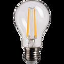 Ampoule LED blanc chaud D6cm culot E27-STANDARD