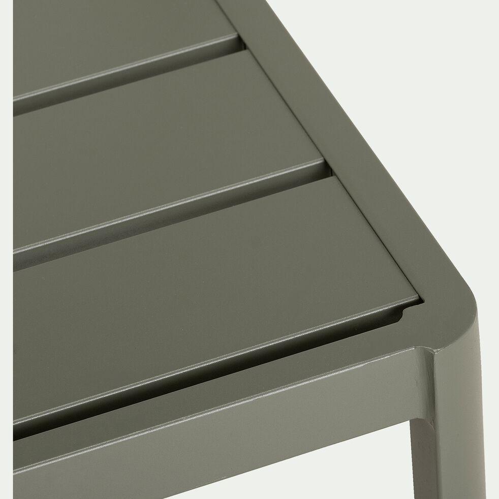Chaise de jardin empilable en aluminium - vert cèdre-ALEP