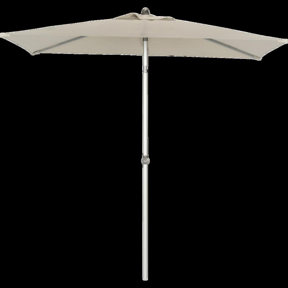 Parasol de balcon rectangle gris 200x250 cm-ACT