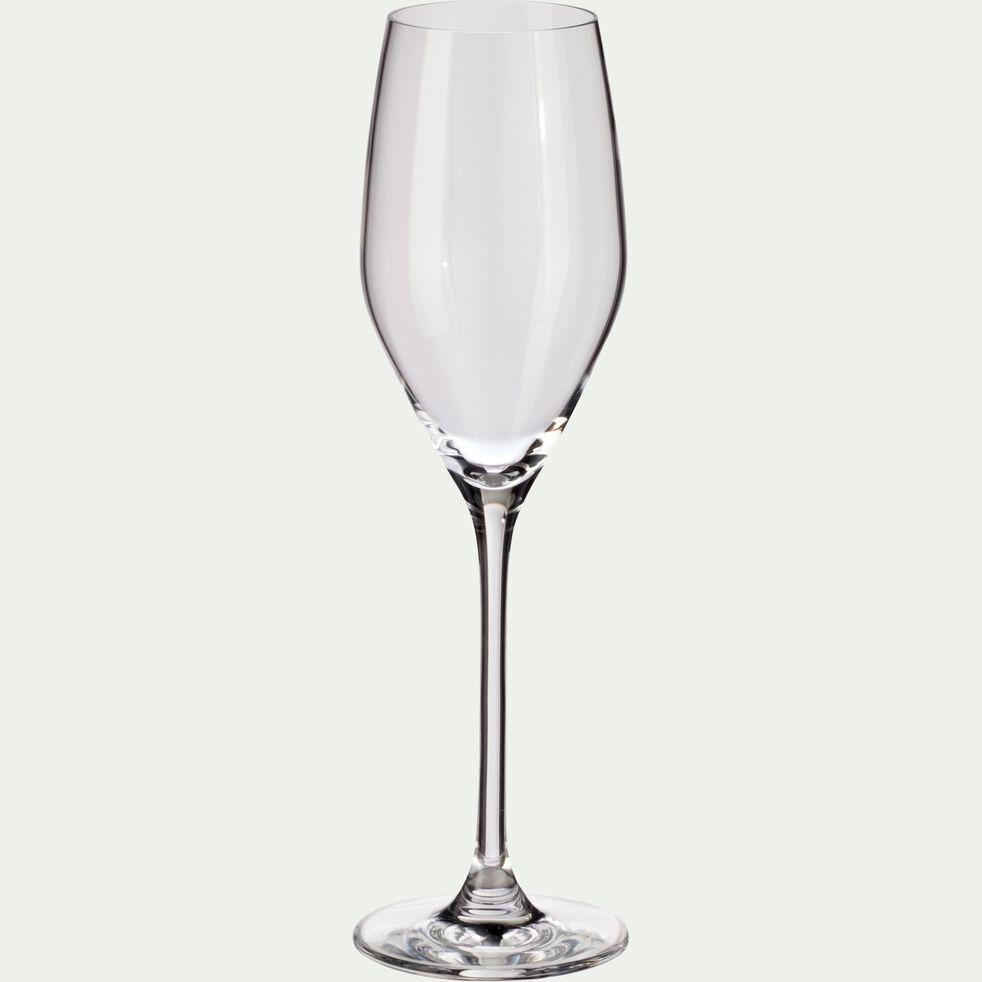 Flûte à champagne en cristallin 17cl-FAVOURITE