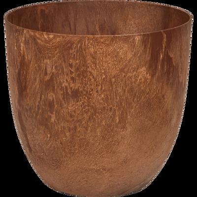 Pot à réserve d'eau rouille D38H33cm-BOLA