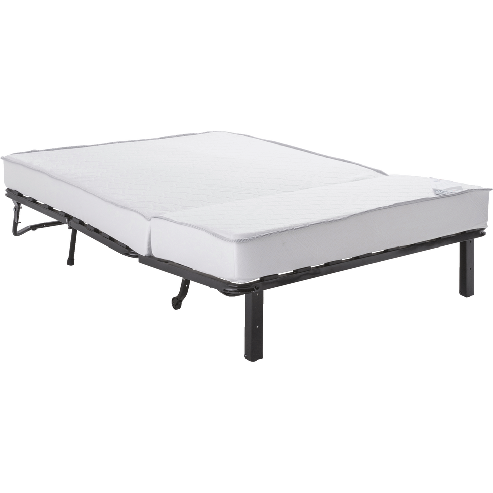 structure de bz 140cm avec matelas bultex 15cm softy canap s bz alinea. Black Bedroom Furniture Sets. Home Design Ideas