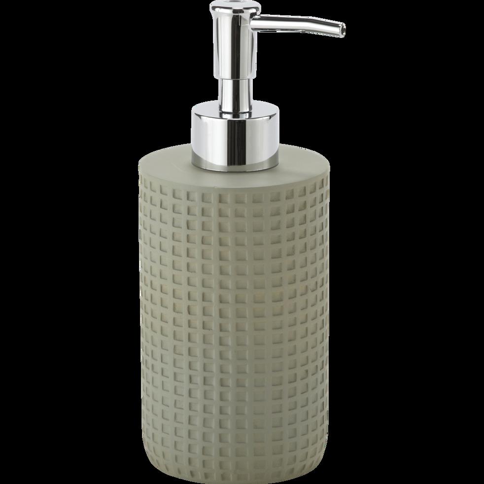 Distributeur de savon vert olivier-LOUBET