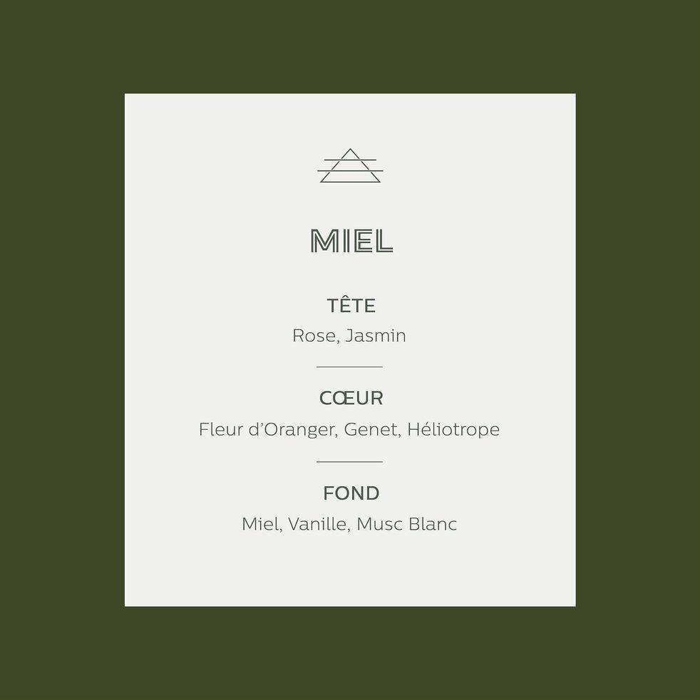 Bougie parfumée senteur Miel 140g-MIEL