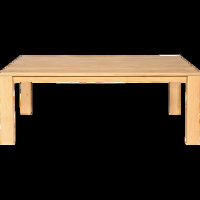 Table de salle à manger en chêne massif - 8 places-EMOTION