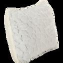 Coussin rectangulaire imitation fourrure 40x60cm-Sofy