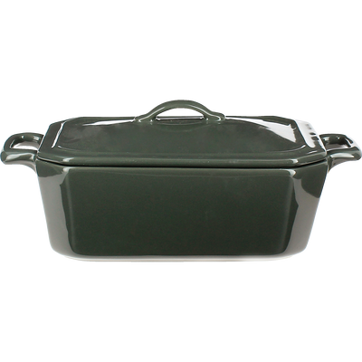 Terrine à foie gras en porcelaine grise - L15cm-TERIN