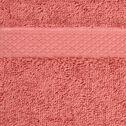 Gant de toilette en coton peigné - rouge ricin-AZUR