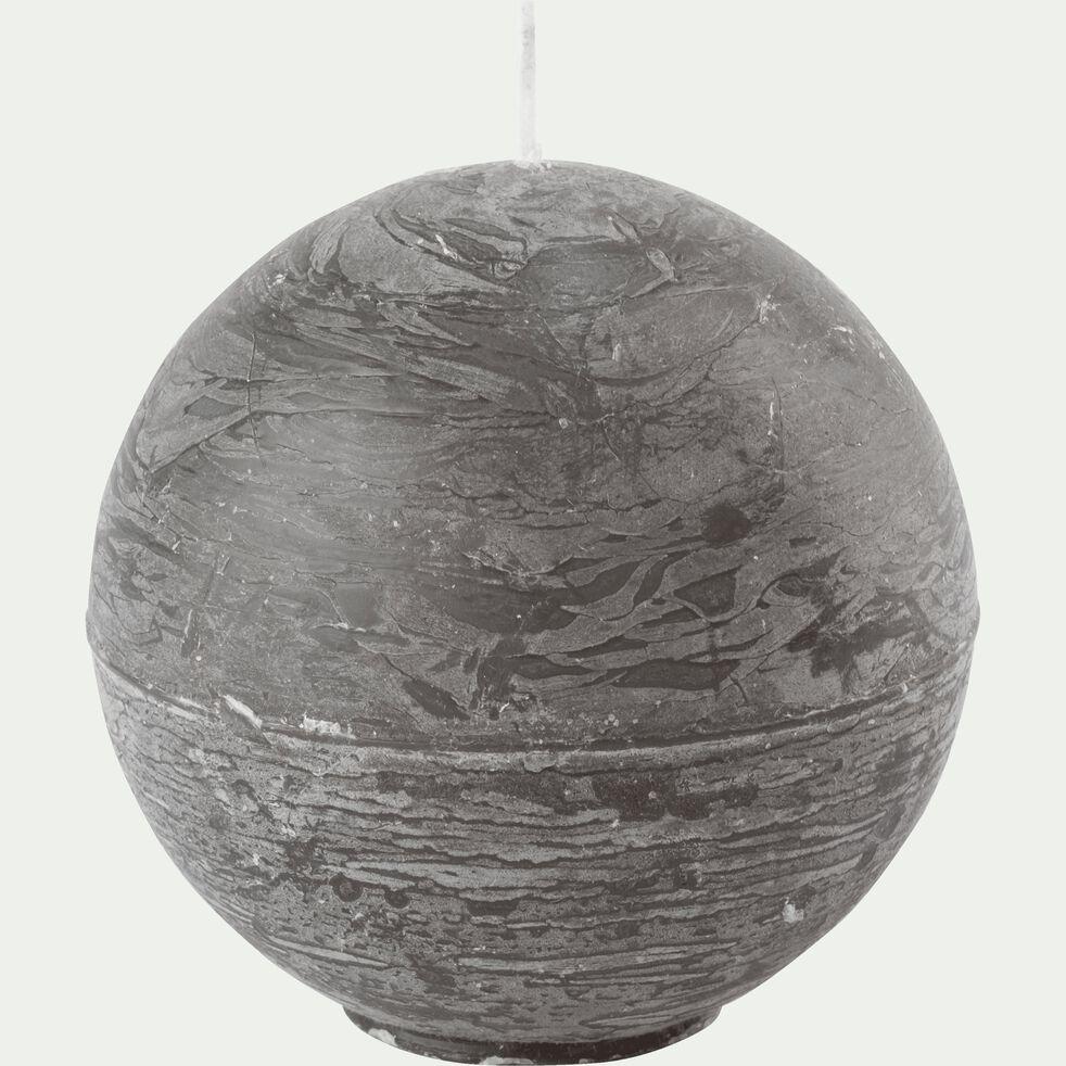Bougie ronde vert cèdre D8cm-BEJAIA