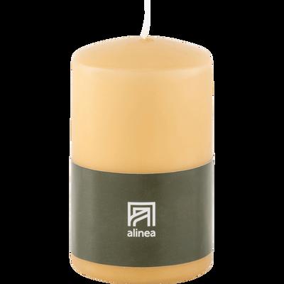 Bougie cylindrique beige estérel H19,5 cm-HALBA