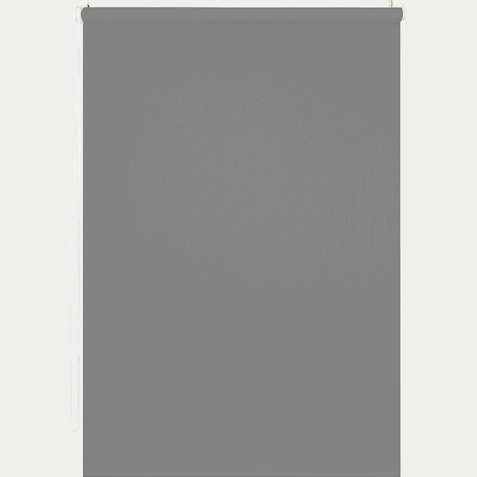 Store enrouleur occultant gris 52x170cm-EASY OCC