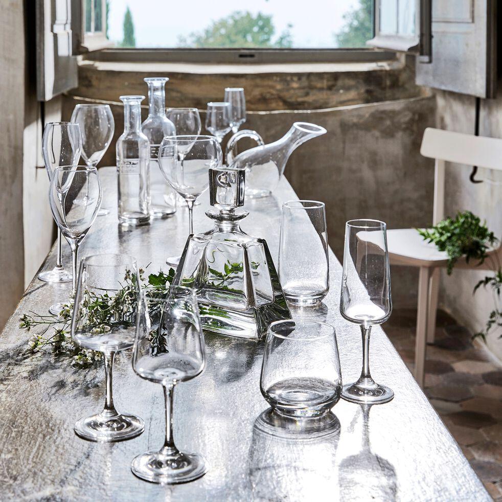 Flûte à champagne en cristallin 22cl-Silhouette
