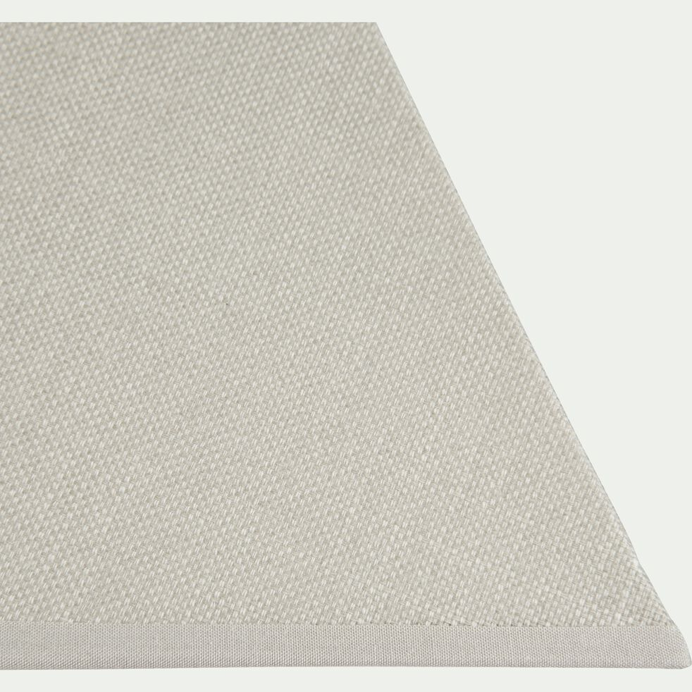 Abat-jour carré vert olivier 16x11x16 cm-MISTRAL