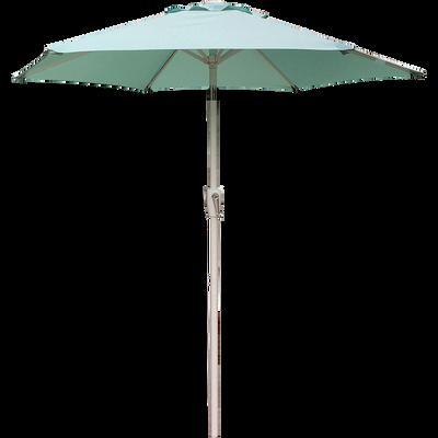 Parasol orientable bleu D210cm-TILT