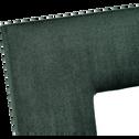 Cadre photo en velours vert 13x18cm-IRIS