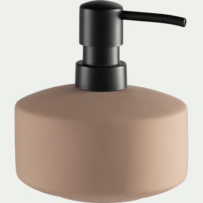 Distributeur de savon en grès - rose-CISTE