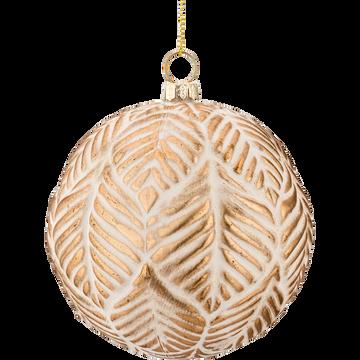 Boule de Noël en plastique D9,2cm-NAAMA