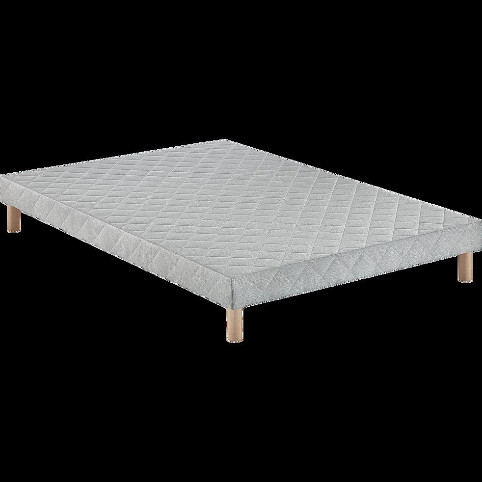 Sommier tapissier Alinea 14 cm - 140x200 cm-LUMINO
