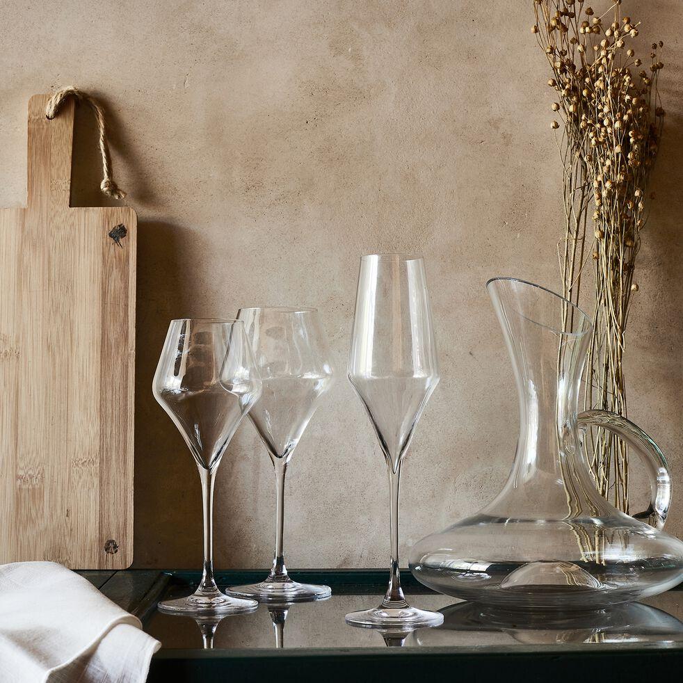 Service de verres en cristallin et verre