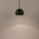Suspension en métal vert cèdre D18cm-BALL