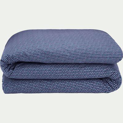 Housse de couette 240x220cm bleu figuerolles-SEME