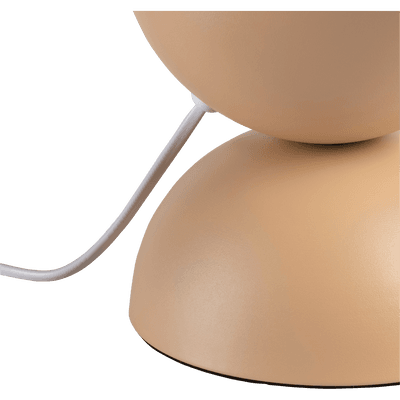 Lampe à poser en métal rose argile H25,5cm-PALMIR