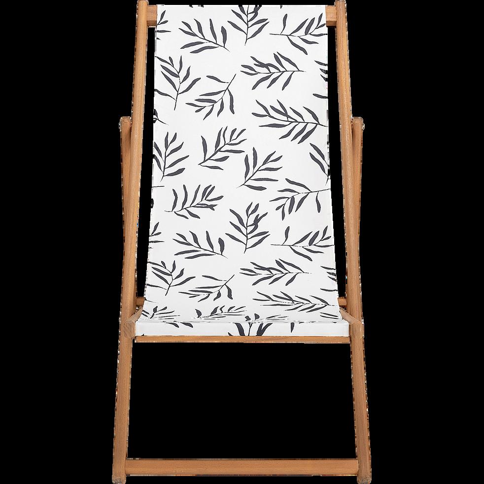 Chilienne de jardin à motif Aloyse - blanc-UDINE