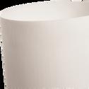 Lampe à poser en résine blanche H50cm-BARTH