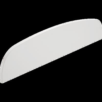 Barrière de sécurité blanche pour lit 90x200 cm-CAMILLE