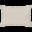 Coussin en coton beige roucas 40x60cm-CALANQUES