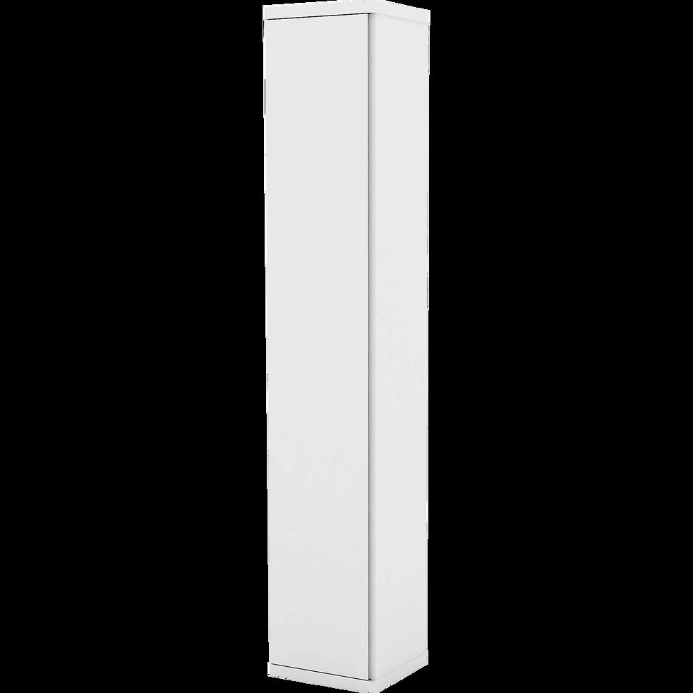 Caisson 1 porte blanc 37.5x200cm-LORENA